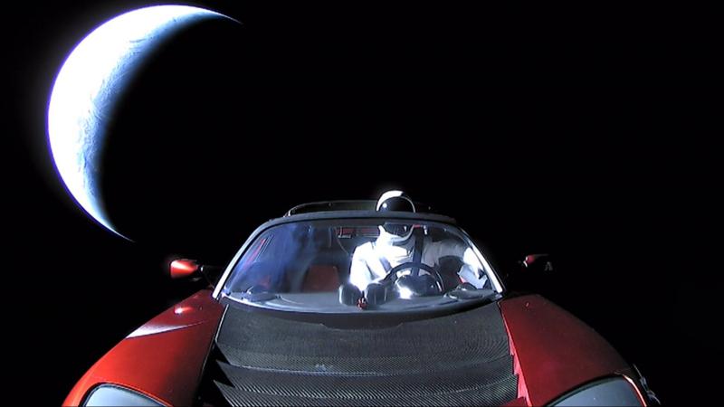 282018 Roadster and Starman