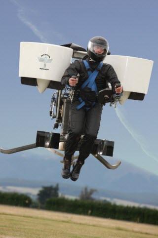 Future is Now - Martin Aircraft Jet-Pack