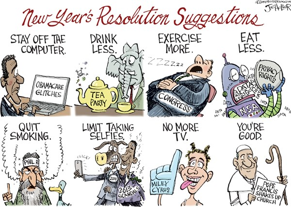 140112 New Year's Resolutions 2014