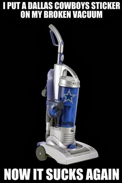 140817 Dallas Cowboys Vacuum - Sucks Again