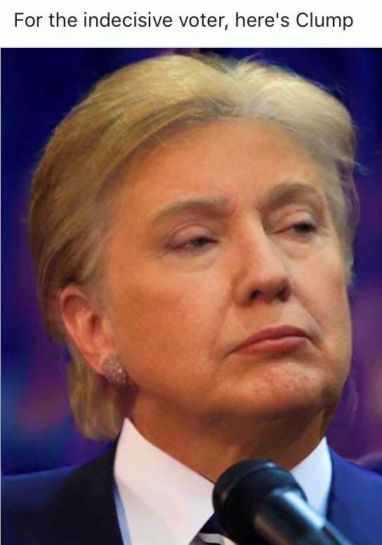 160618 Hillary and Trump Combined