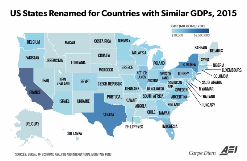 160828 States Renamed for Countries by GDP
