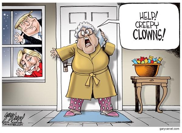 161028 Creepy Clowns