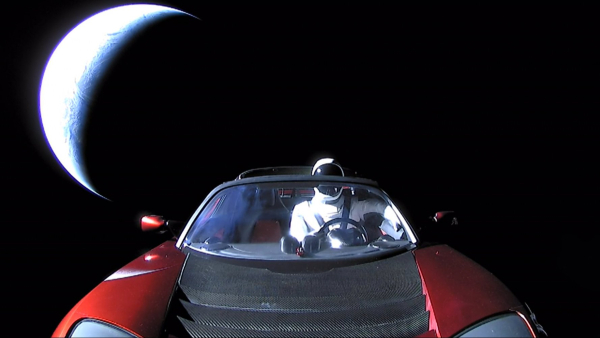 282018 Roadster and Starman