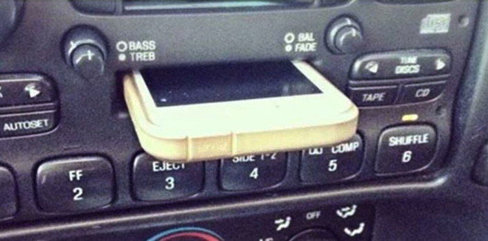 150906 iPhone Dock or Cassette Player
