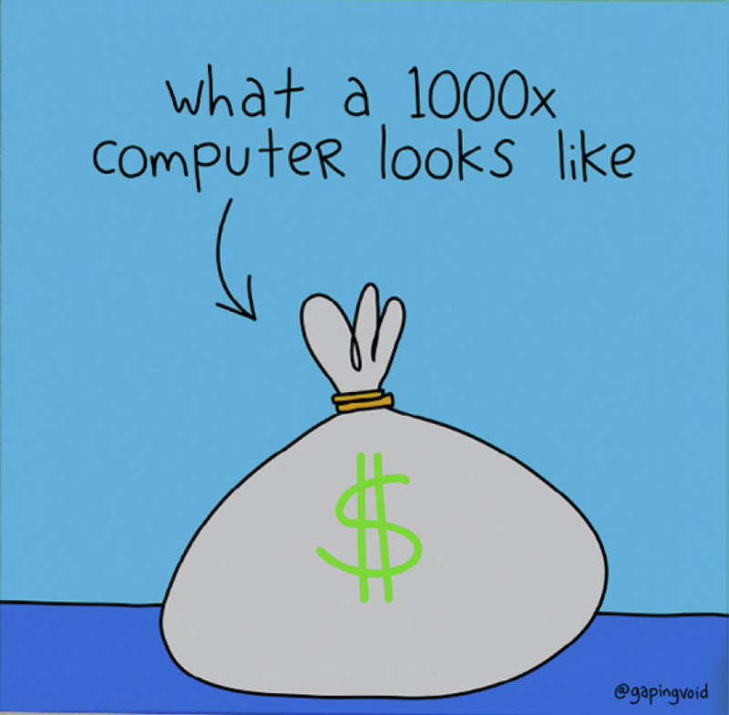 What A 1000x Computer Looks Like_GapingVoid