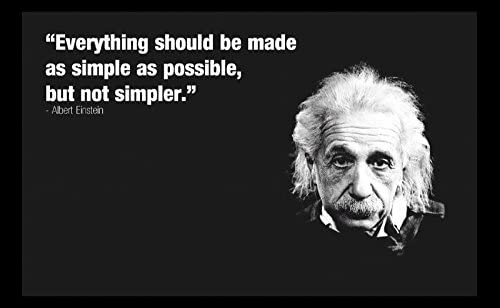 200705 Einstein's Simplicity Quote