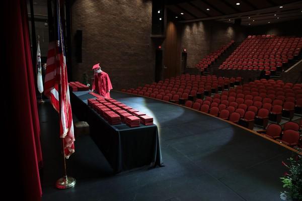 Empty Auditorium Graduation